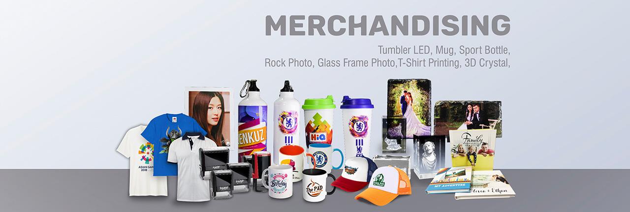 digital printing dan merchandising